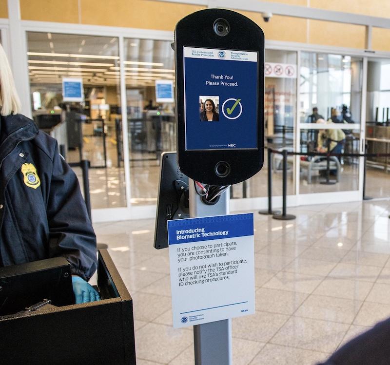 Delta facial recognition