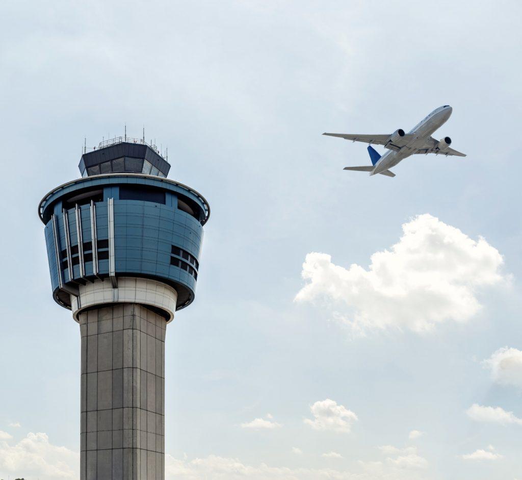 Laguardia airport tower New York