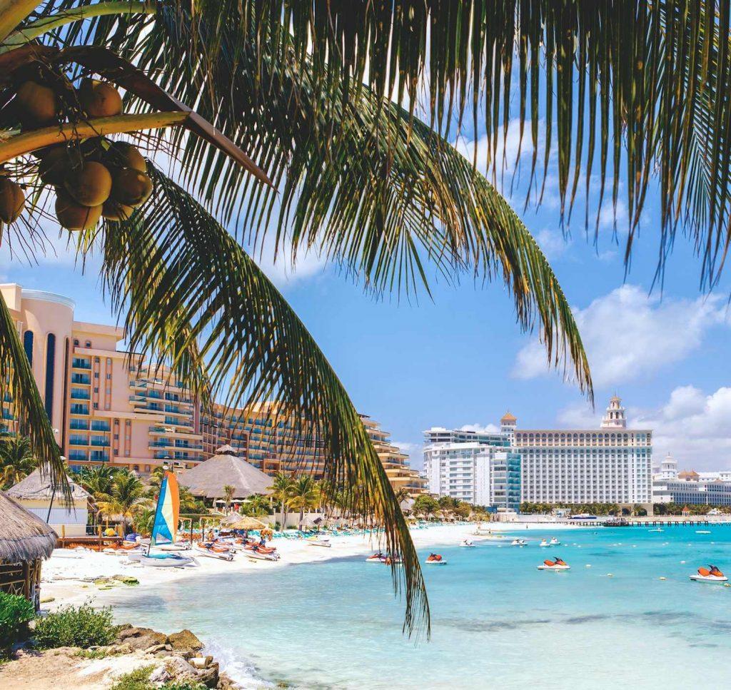 Mexico beach hotel