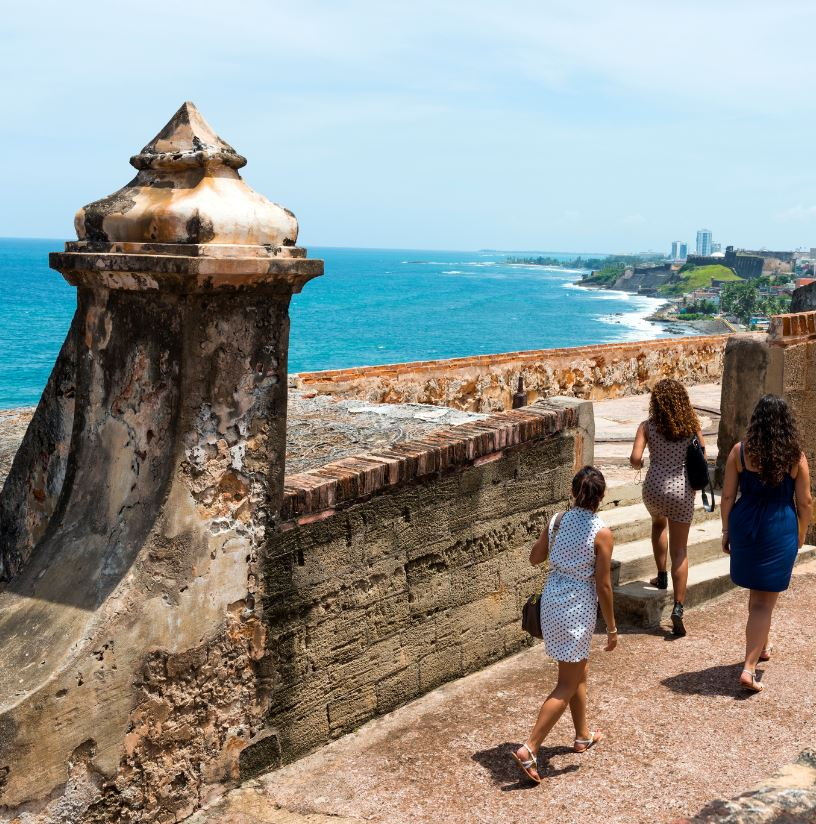 Puerto rico tourists