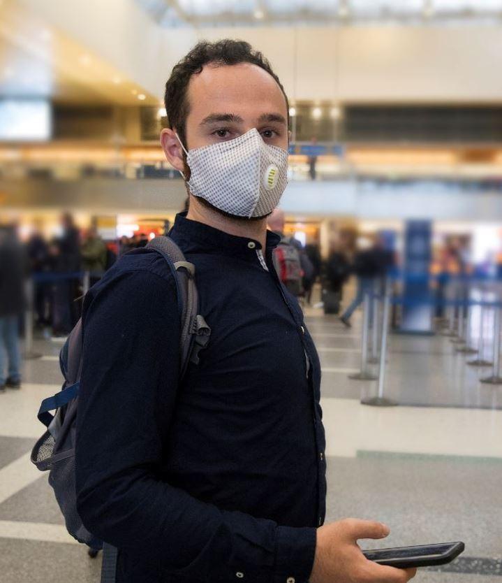Travel wearing mask