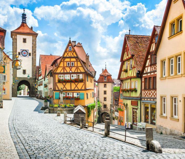 bavarian town bavaria germany
