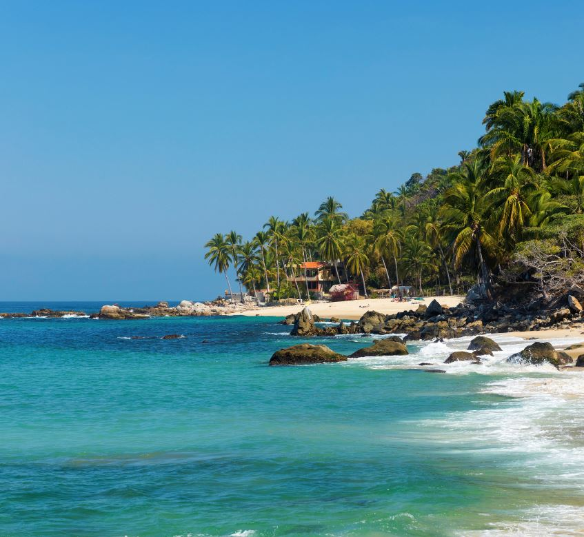beach in Puerto Vallarta, Mexico