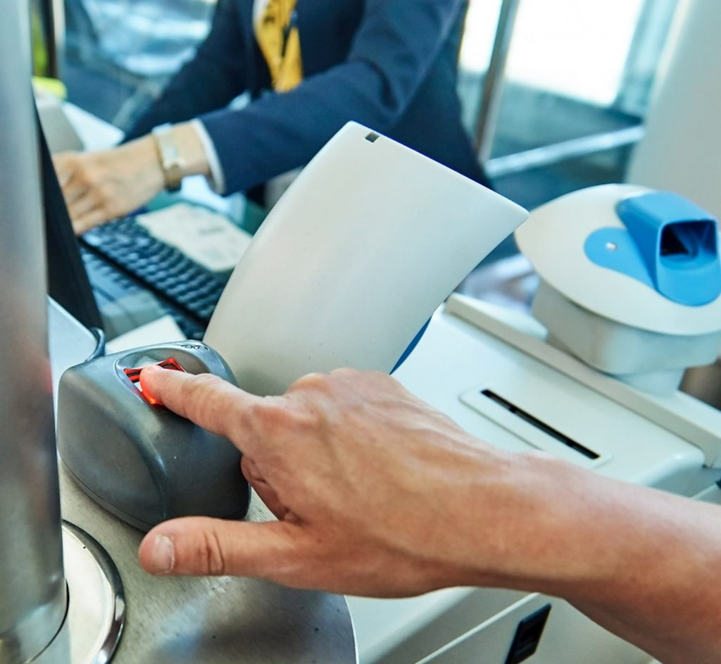 biometrics technology airport