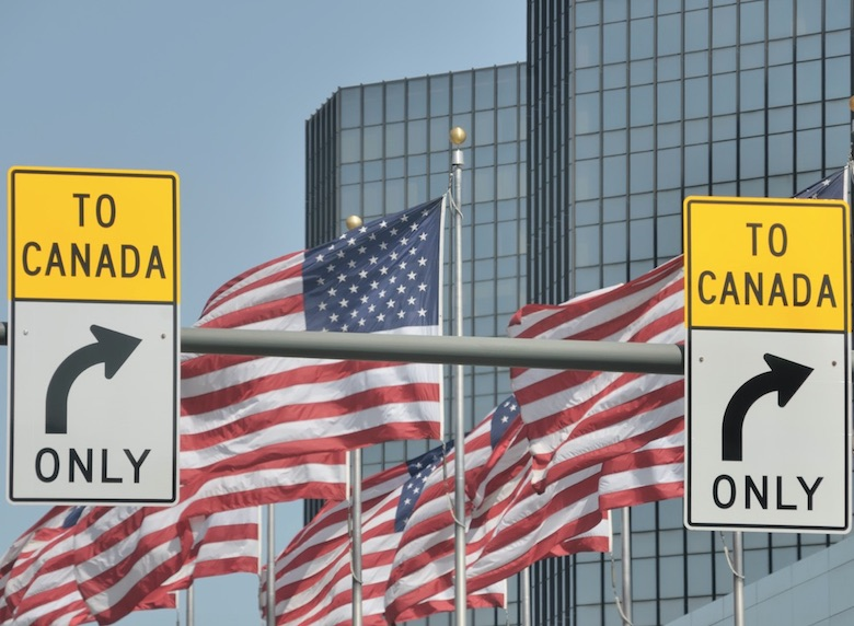 canada usa border - no PCR test needed to cross