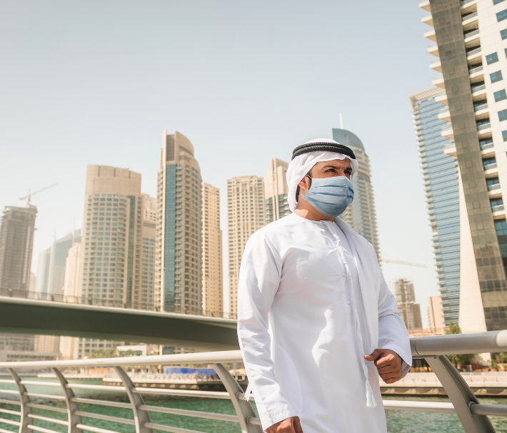 dubai man mask