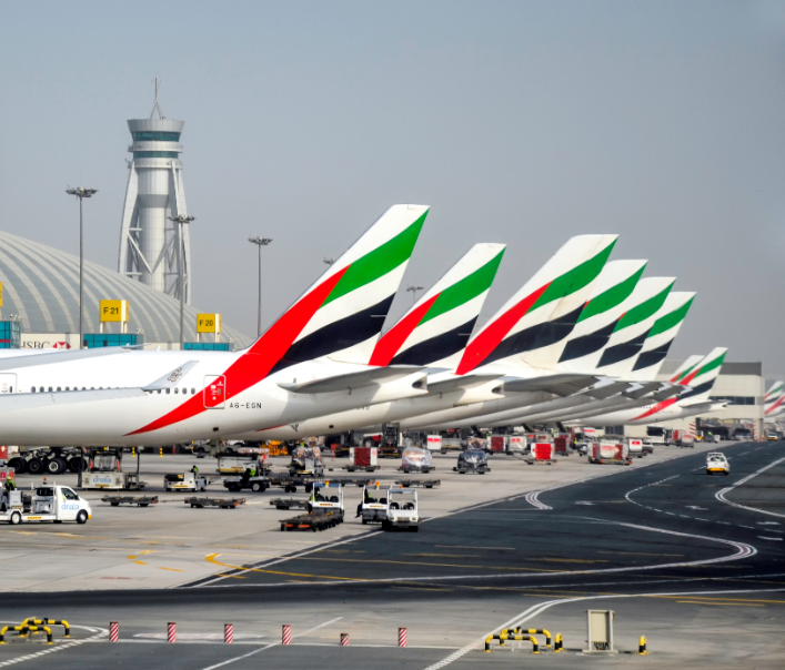 emirate airline planes