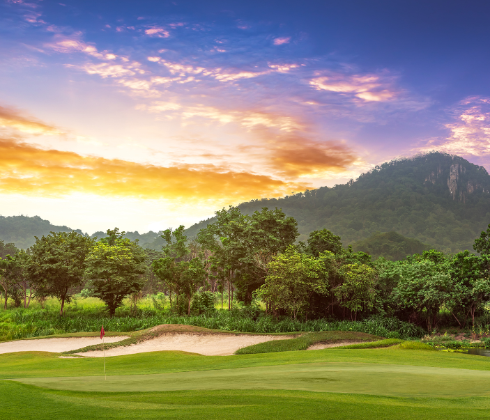 golf course thailand