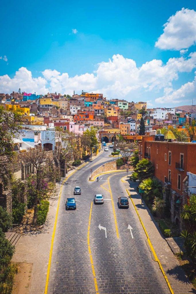 Pueblo Magico Guanajuato in Mexico