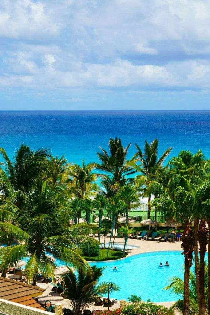 oceanfront resort pool