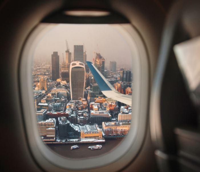 uk skyline flight window