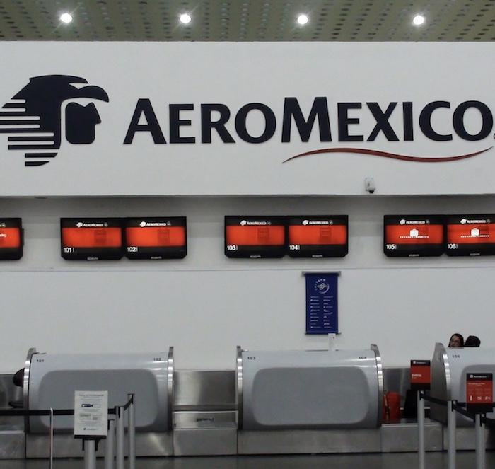 AeroMexico airport