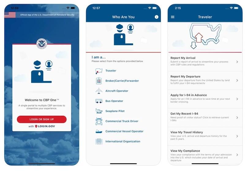 CBP One App on App Store