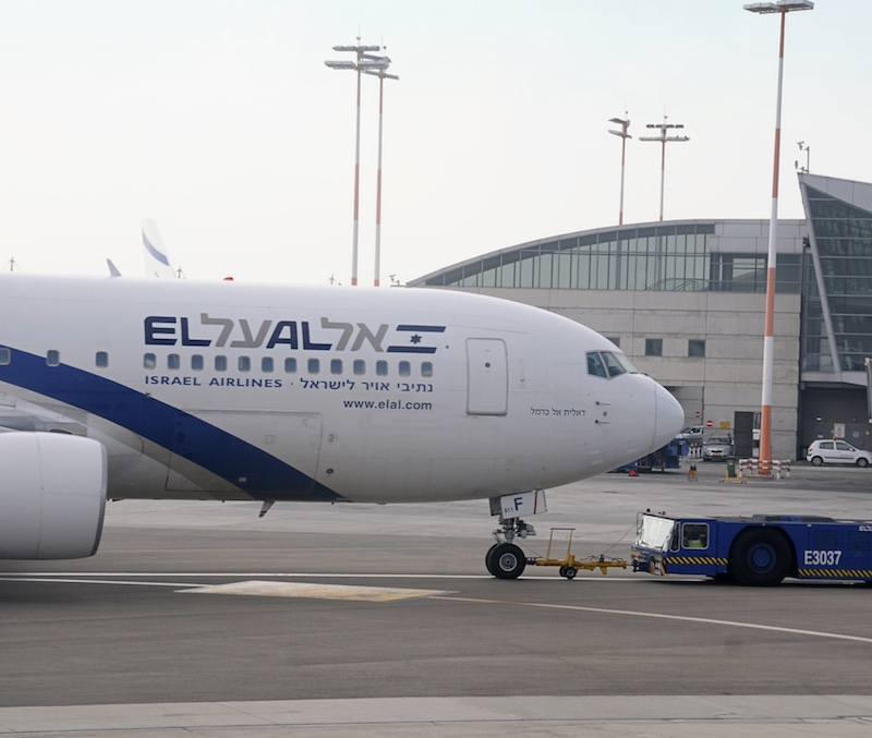 Israeli Airplane of EL AL
