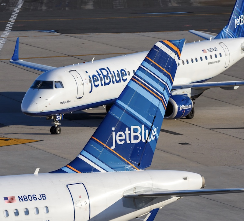 JetBlue aircrafts in New York
