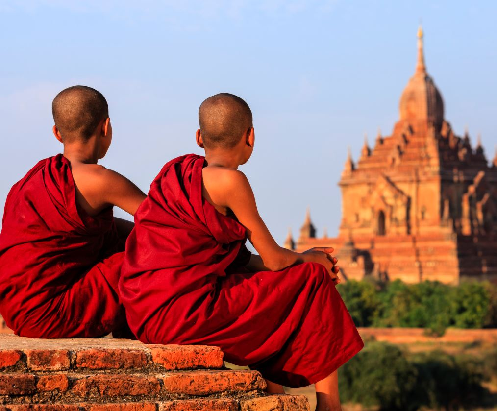 Monk In Burma