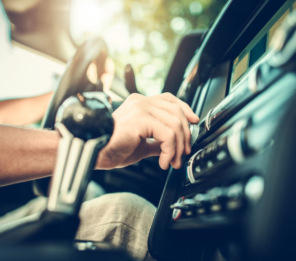 Pddcast in Car for roadtrip
