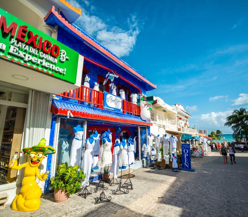 Shops in Playa Del Carmen