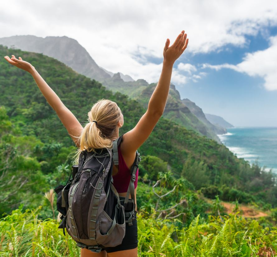 Traveler in Hawaii