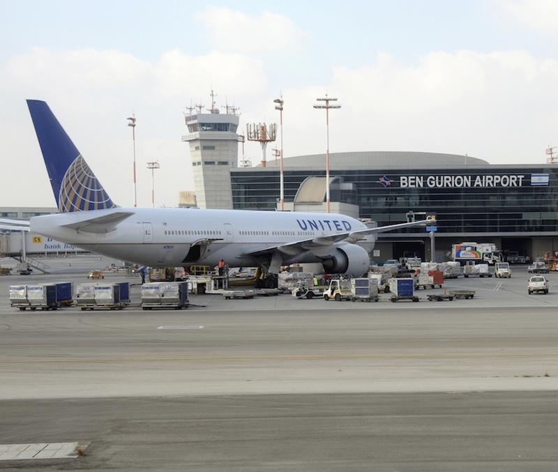 United Airlines Ben Gurion Airport, Tel Aviv