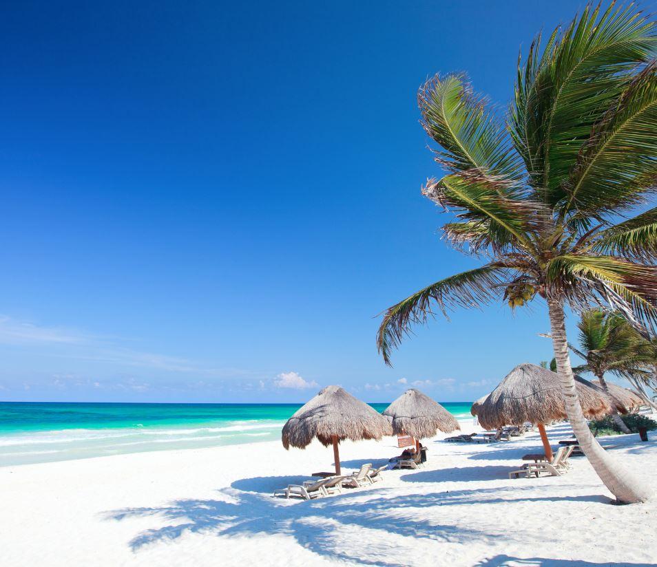 White Sand Beach Tulum