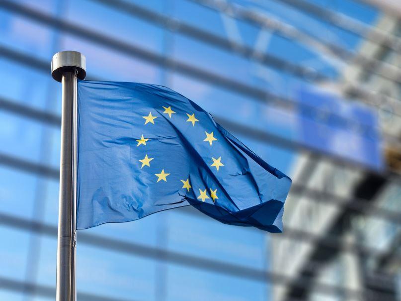 eu flag parliament