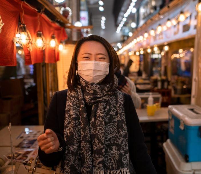 japanese woman mask