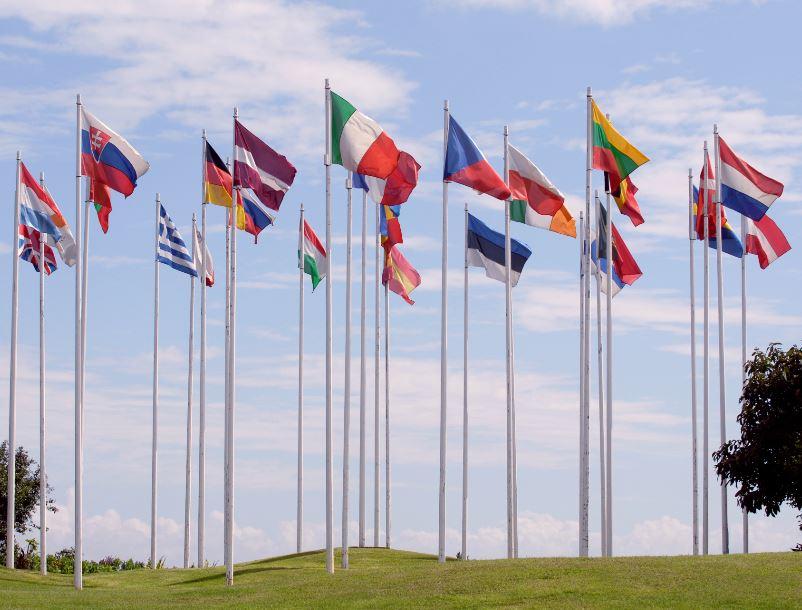 member state flags eu