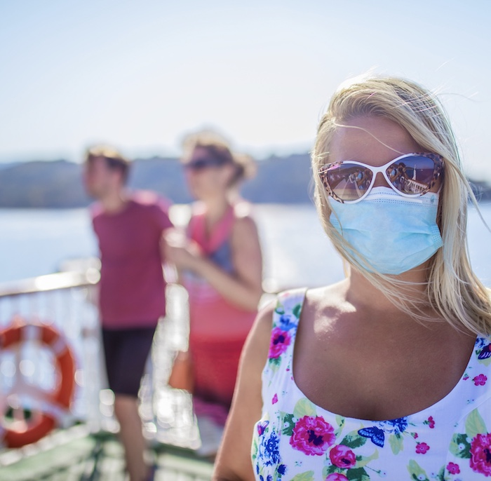 passengers on cruise ship