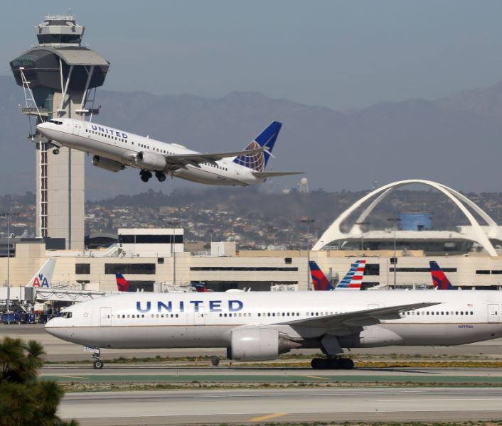 united airlines lax
