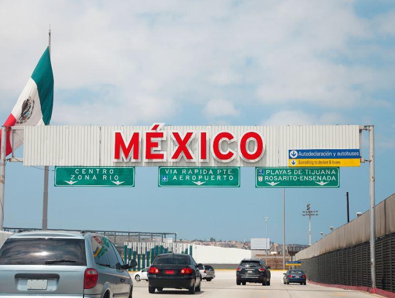 us mexico border flag