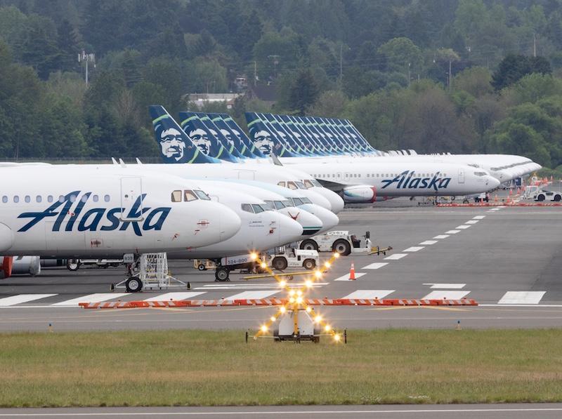 Alaska Airlines covid-19 pandemic
