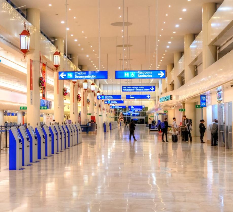 Cancun tourist tax terminals
