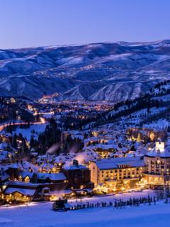 Colorado Resort Winter