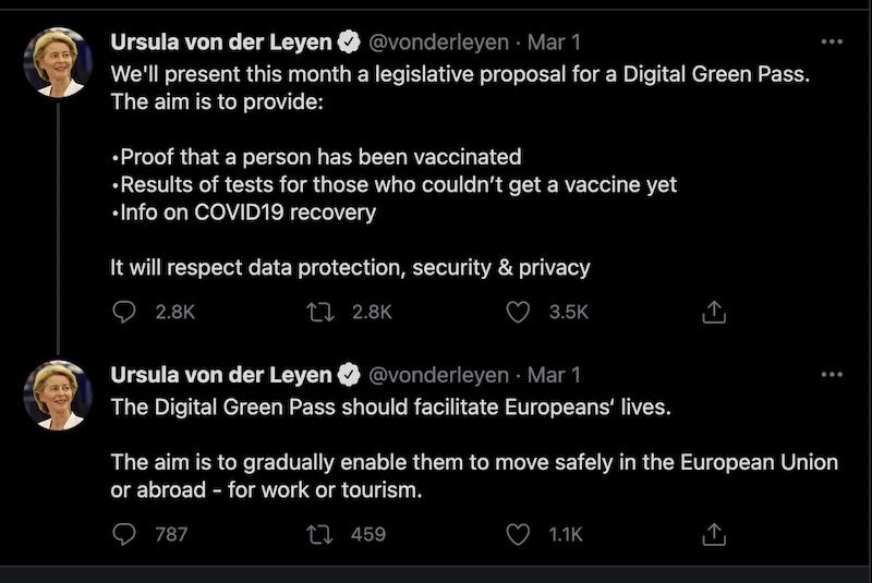 EU European Commission twitter