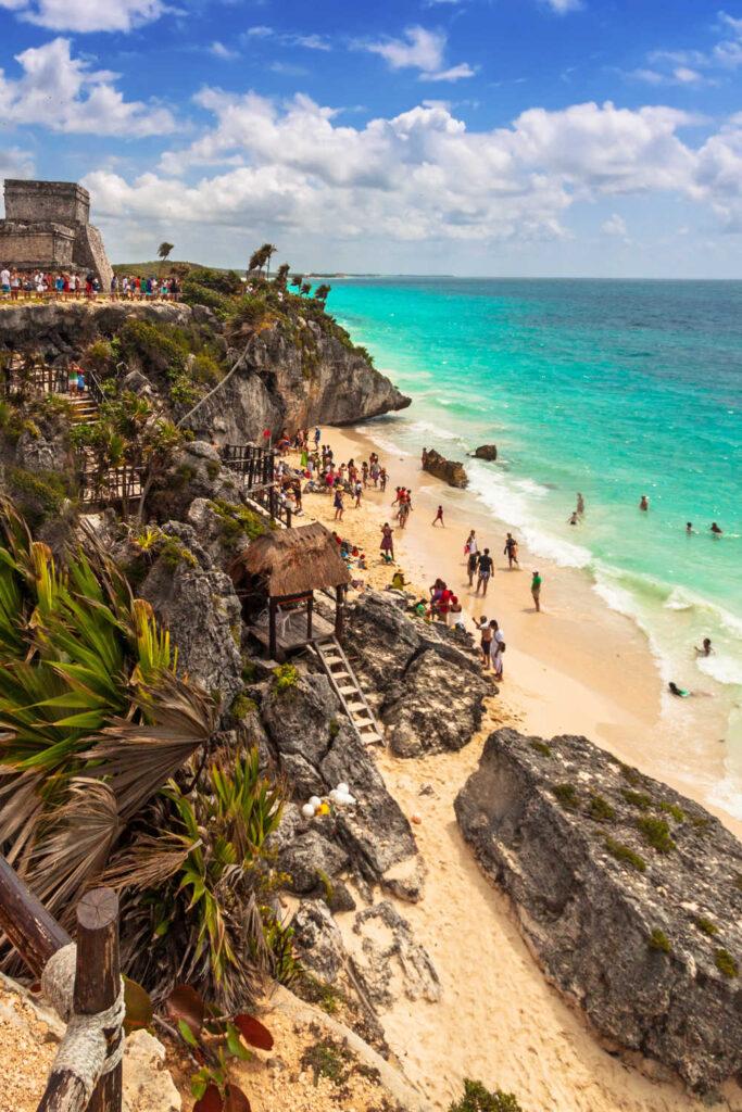 Mayan Ruins Near Tulum