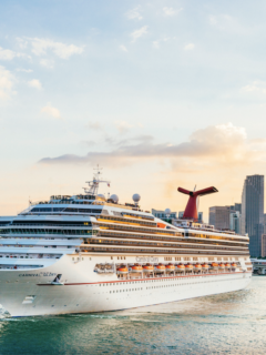 First Cruise Ship Is Officially Sailing In The United States