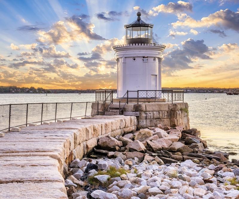 Portland lighthouse South Maine
