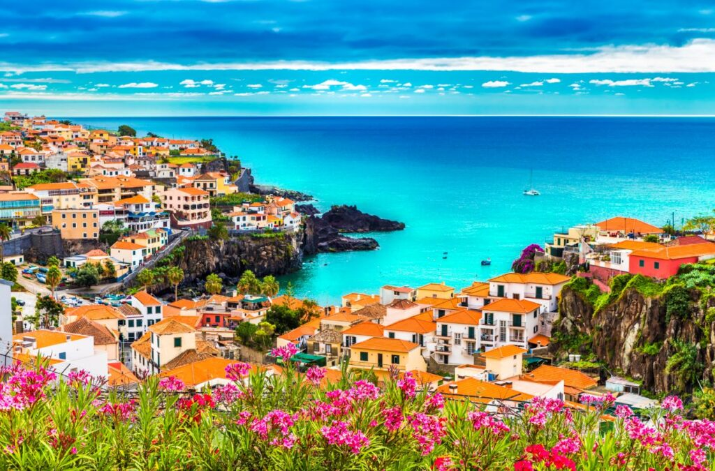 Town in Madeira Portugal