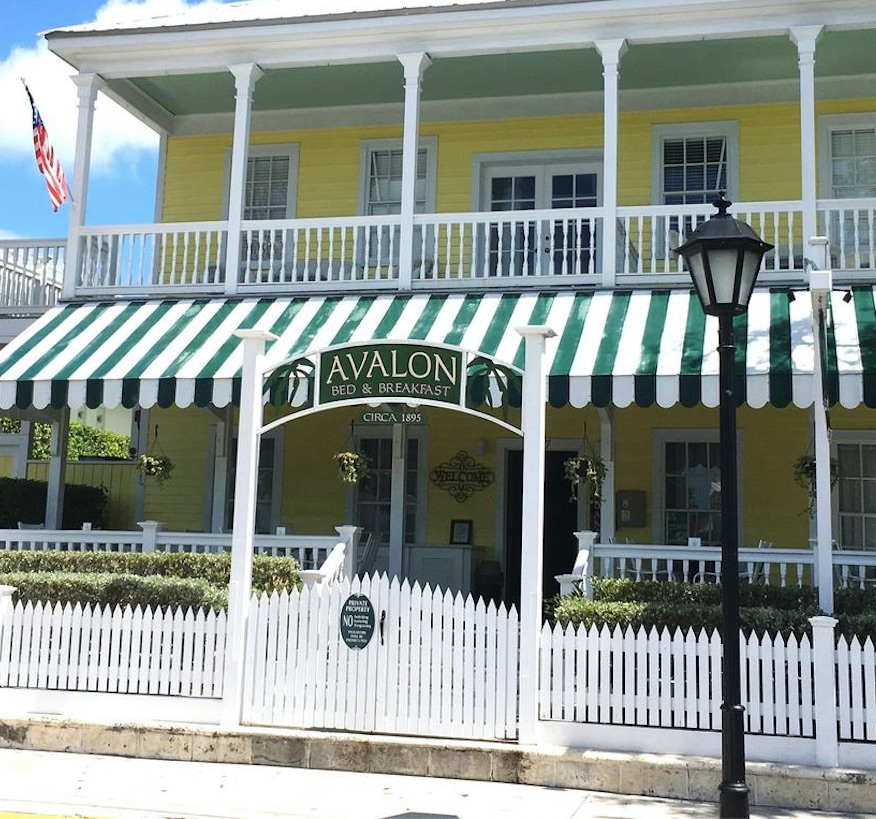 Avalon bed and breakfast key west florida beach house