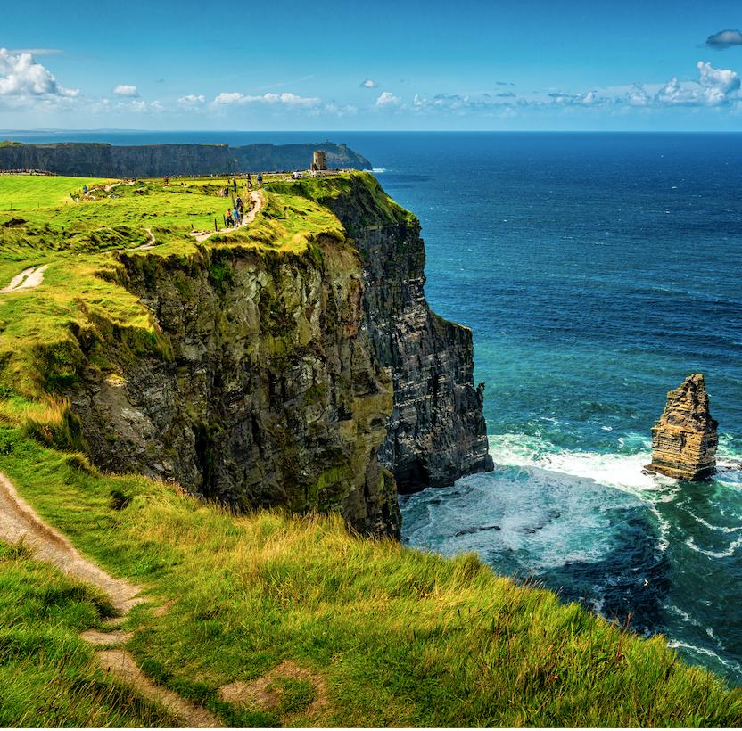 Τα βράχια της Ιρλανδίας