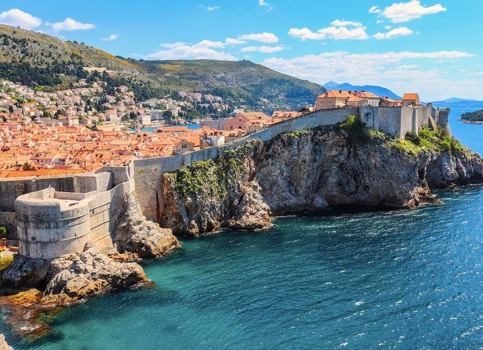 Croatia Dubrovnik on the Adriatic sea