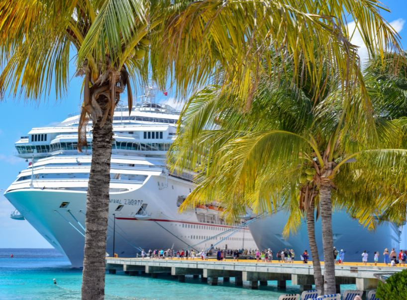 cruise ship palm trees