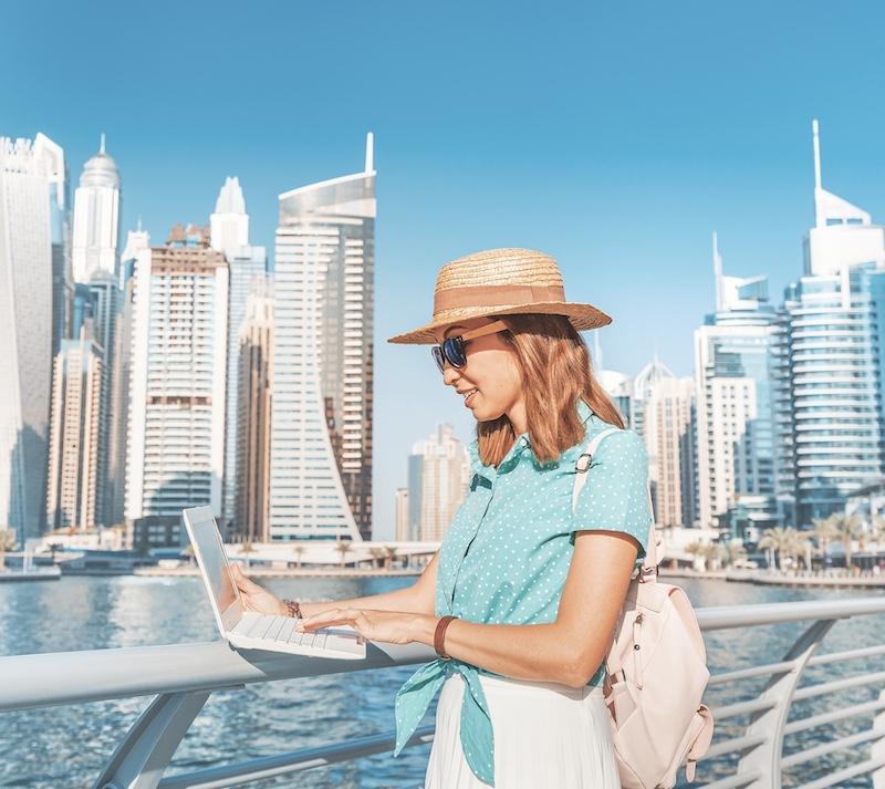 digital nomad in Dubai