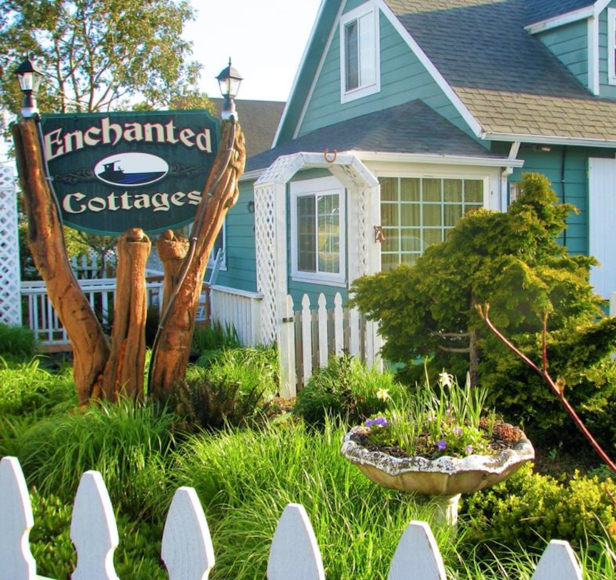 enchanted cottages seaview long beach washington cottage garden