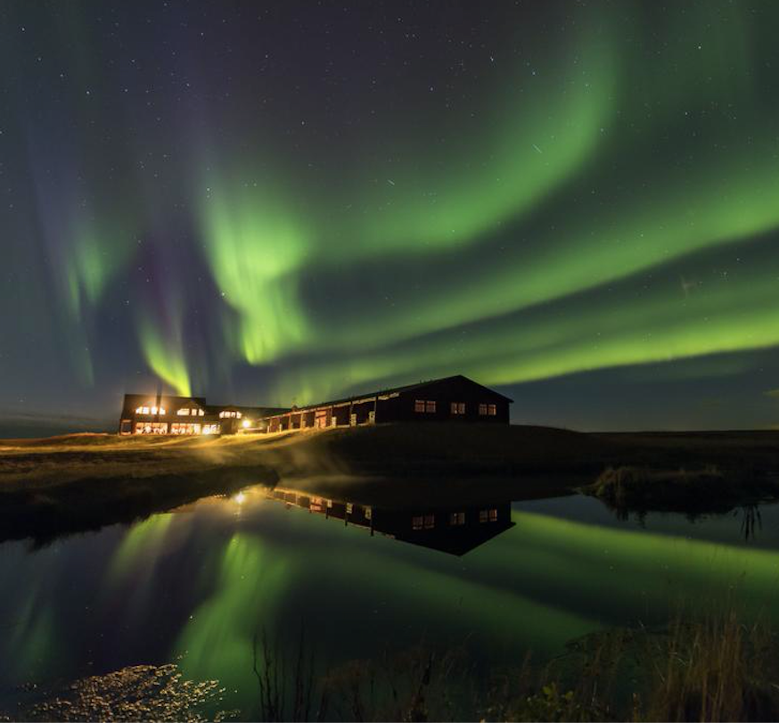 hotel ranga northern lights Iceland