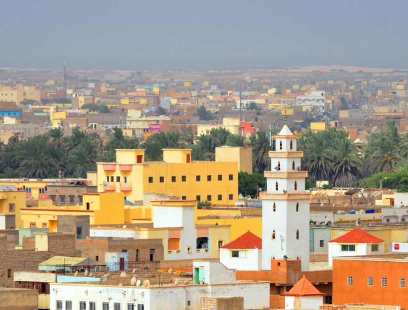 mauritania skyline