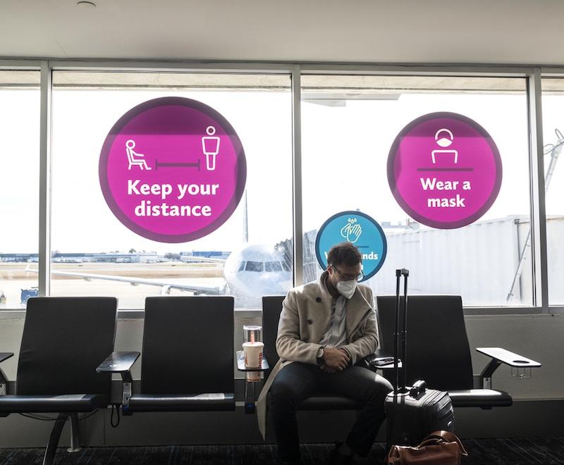 passenger at Charlotte Douglas International Airport