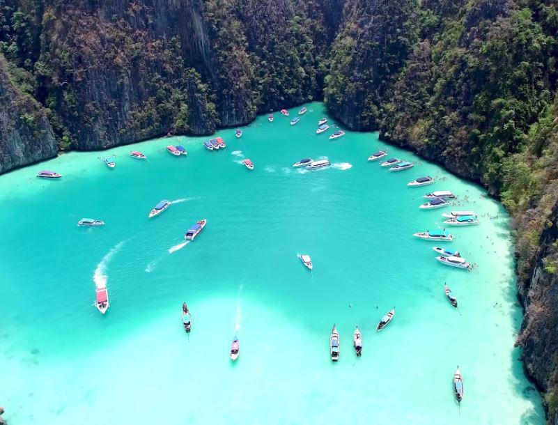 pileh lagoon phi phi thailand