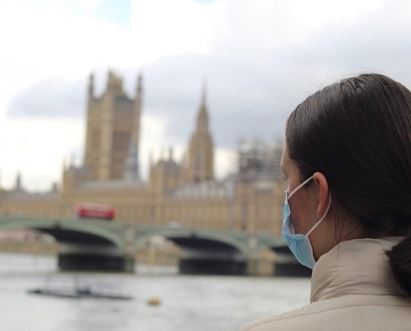 traveler mask London England